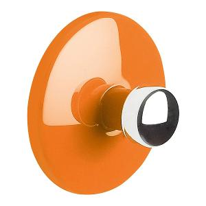 Bowl Range Towel Hook Dia 6cm Orange