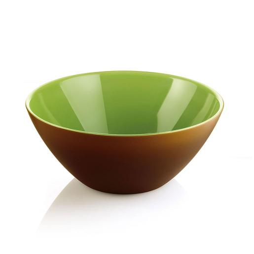 My Fusion Bowl Dia 20cm Brown / Green
