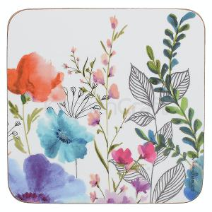 Meadow Floral Coasters Set of 6 Pieces