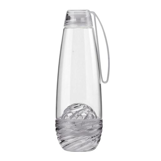 Feel Fruit Infuser Water Bottle Grey