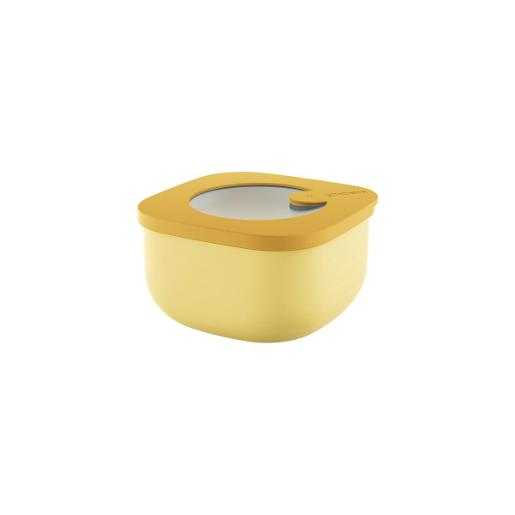 Store And More Shallow Airtight Containers .45 Liter Ochre