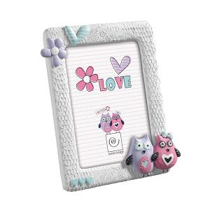 Baby Picture Frame 13x18cm White