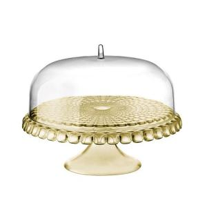 Cake Stand With Dome Sand