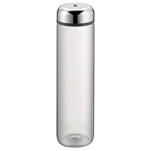 Water Bottle 0.75 Liter Glass Grey