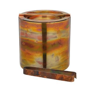 Small Ice Bucket with Lid Copper