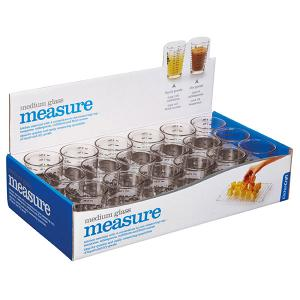 Medium Glass Measuring Cups 120ml Set of 1 Pieces