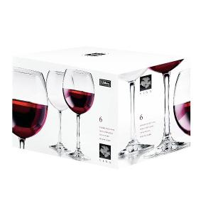 Vina Balloon Wine Glass 540ml 18oz Set of 6 Pieces