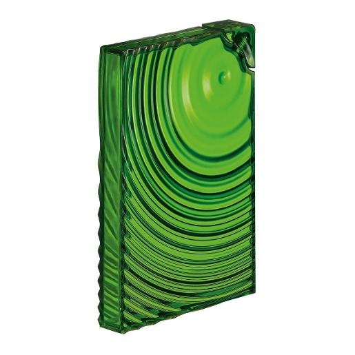 Flat Pack Water Bottle Ripples Green