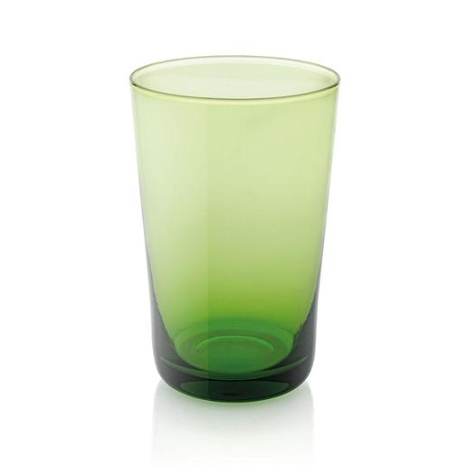 Easy Tall Tumbler 450ml Set of 6 pieces Green