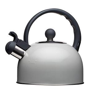 Traditional  Whistling Kettle 1.4 Litre Grey