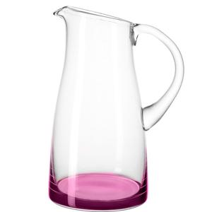 Jug Glass 1.9Lt Viola Base