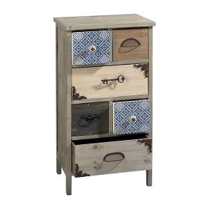 6 Drawers Wooden Cabinet