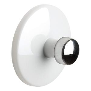 Bowl Range Towel Hook Dia 6cm White