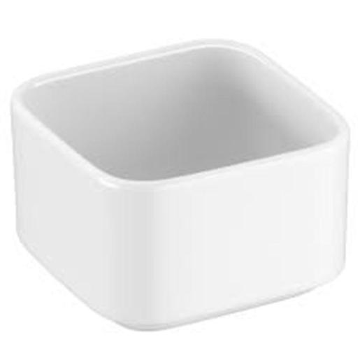Porcelain Square Bowl 9x9x6.1cm White