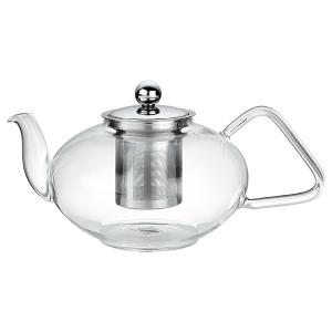 Tea Pot Glass with Filter and Lid 1200ml