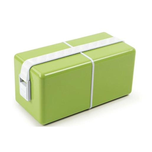 O Eat Lunch Box Green