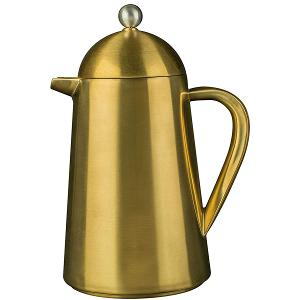 French Press Coffee Pot 8 Cups Gold