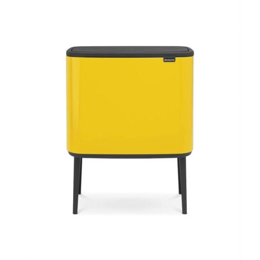 Bo Touch Bin With 1 Inner Bucket 36 Litre Daisy Yellow