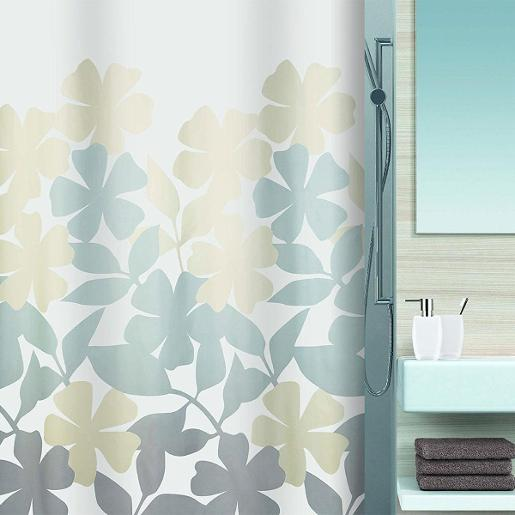 Fleury Shower Curtain Taupe Beige 180 x 200 cm