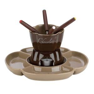 Fiore Chocolate Fondue Set of 7 Pieces