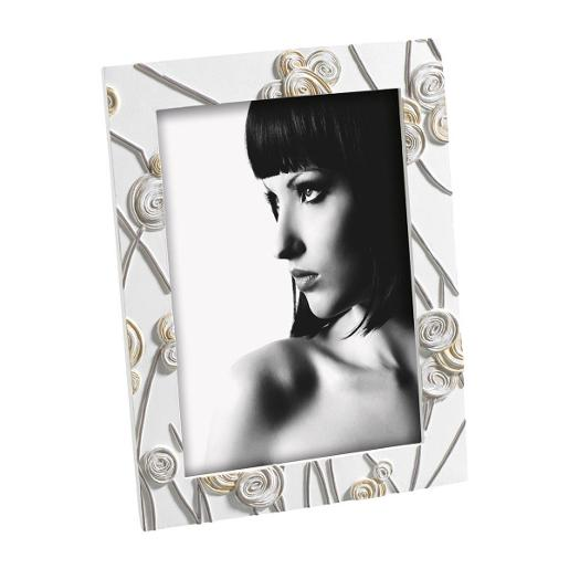 Picture Frame 13x18cm White & Brown