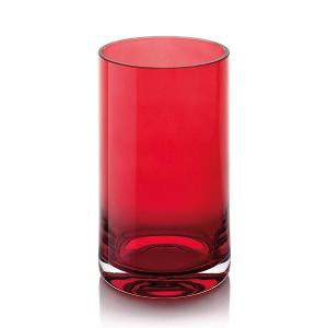 Doha Vase H 24cm Cased Red