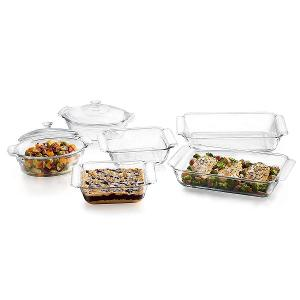 Premium Glass Serving Dish Set of 8 Pieces