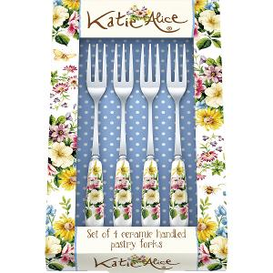 Pastry Fork Set of 4 Pieces