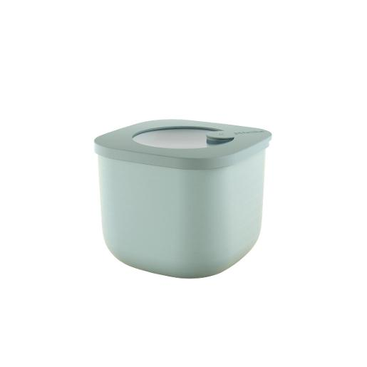 Store And More Shallow Airtight Deep Container .75 Liter Sage Green