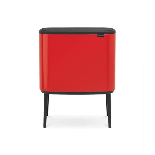 Bo Touch Bin With 1 Inner Bucket 36 Litre Passion Red