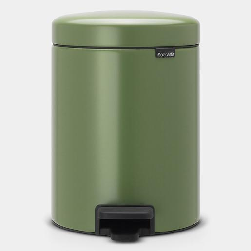 New Icon Pedal Bin 5 Liter Green