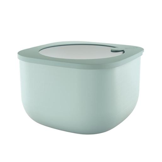 Store And More Shallow Airtight Deep Container 2.00 Liter Sage Green