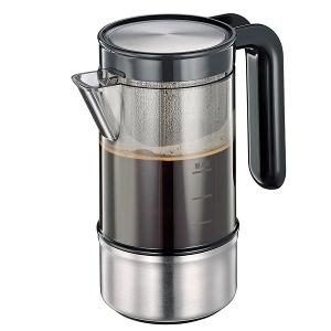 Perfetto Coffee Maker for 4 Cups With Ball Valve
