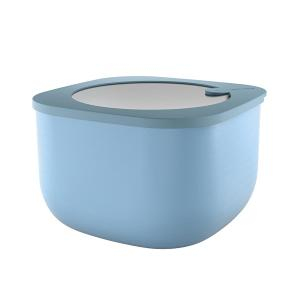 Store And More Shallow Airtight Deep Container 2.80 Liter Blue